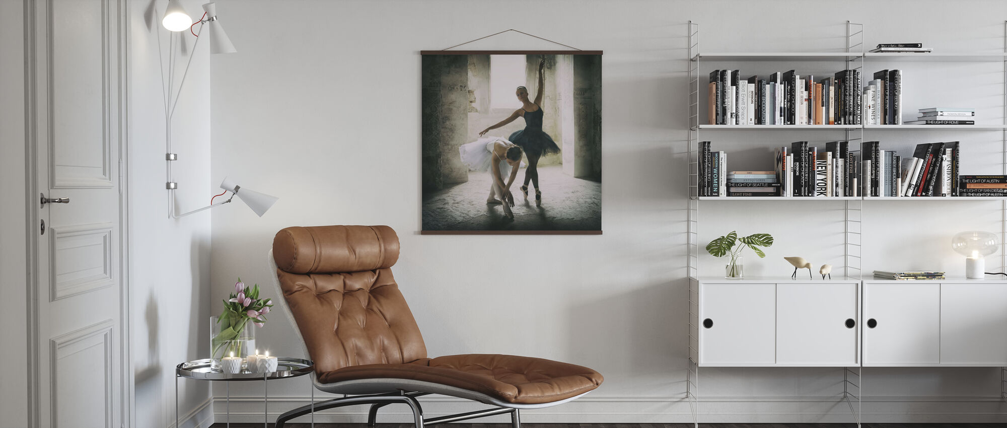 The Subtle Bow - Poster - Living Room