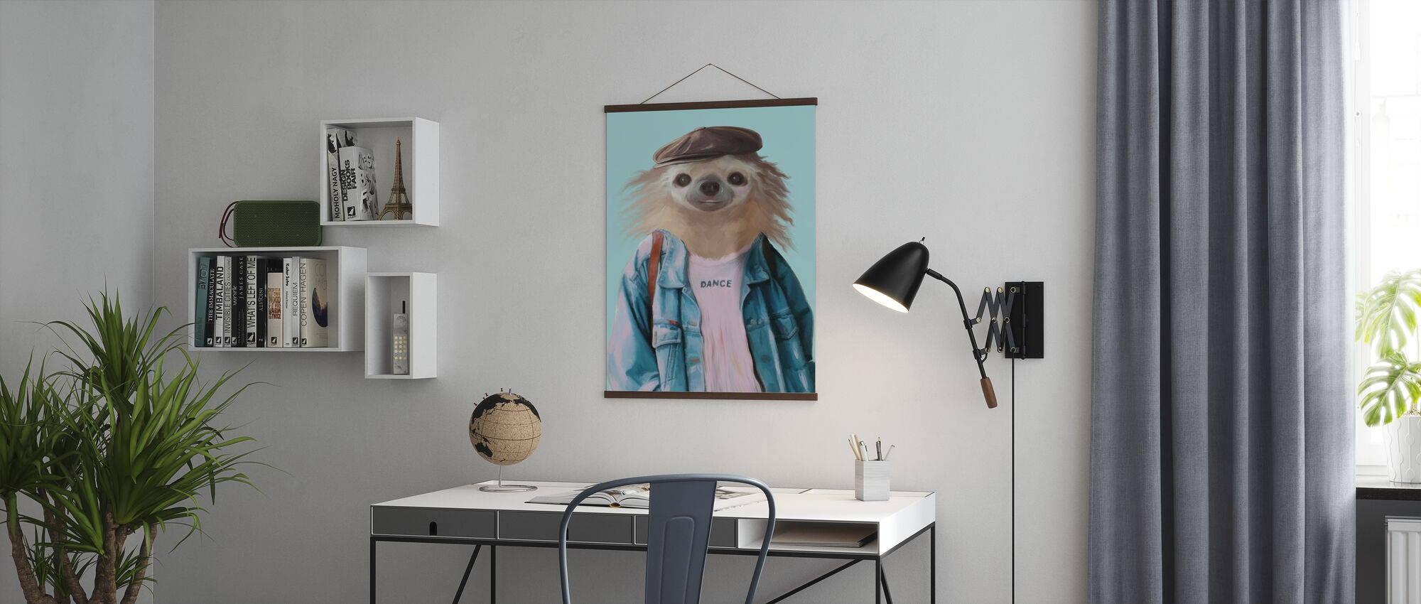 Sloth dance - Poster - Office