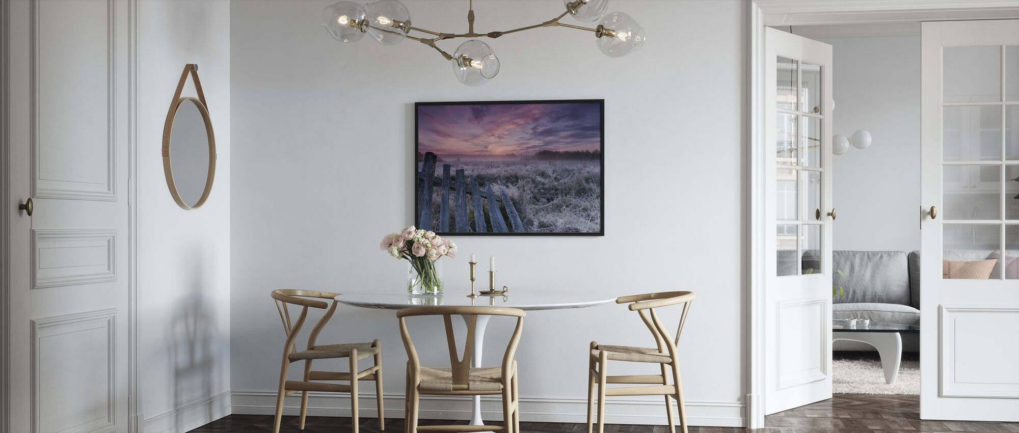 Dawn of Bialowieza Meadows - Poster - Kitchen
