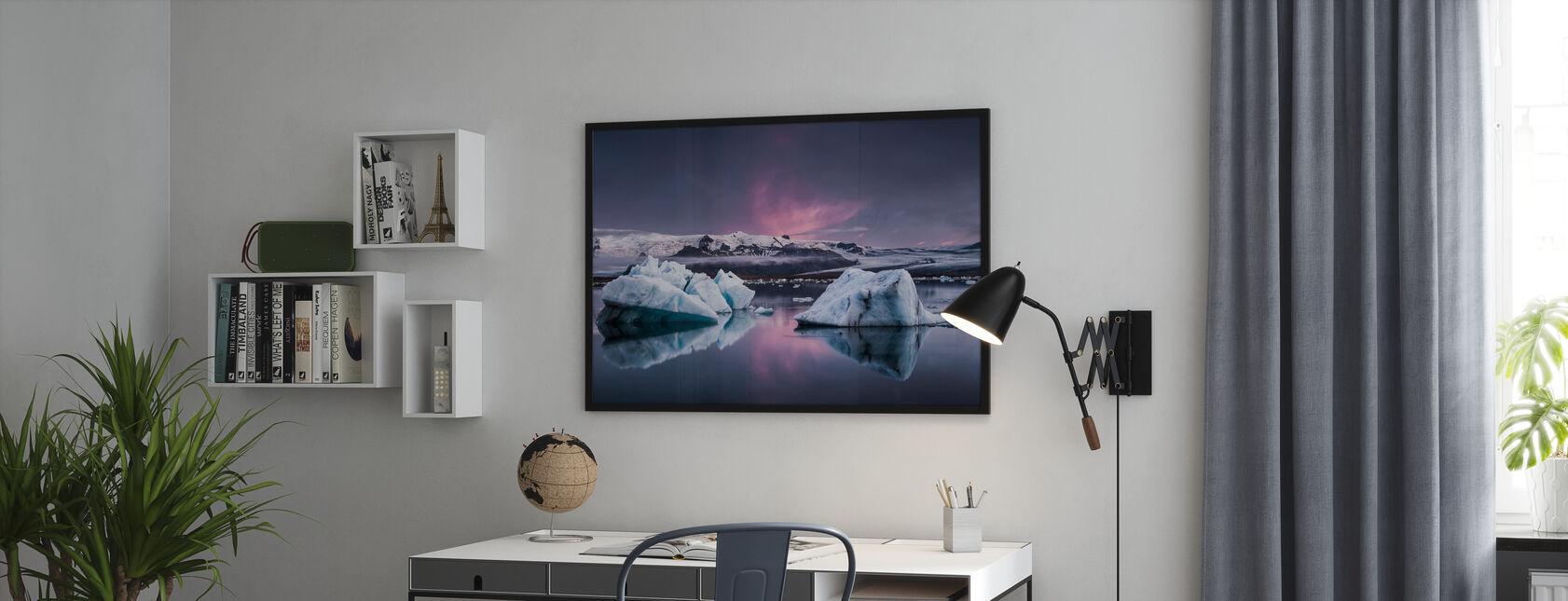 The Glacier Lagoon - Poster - Office