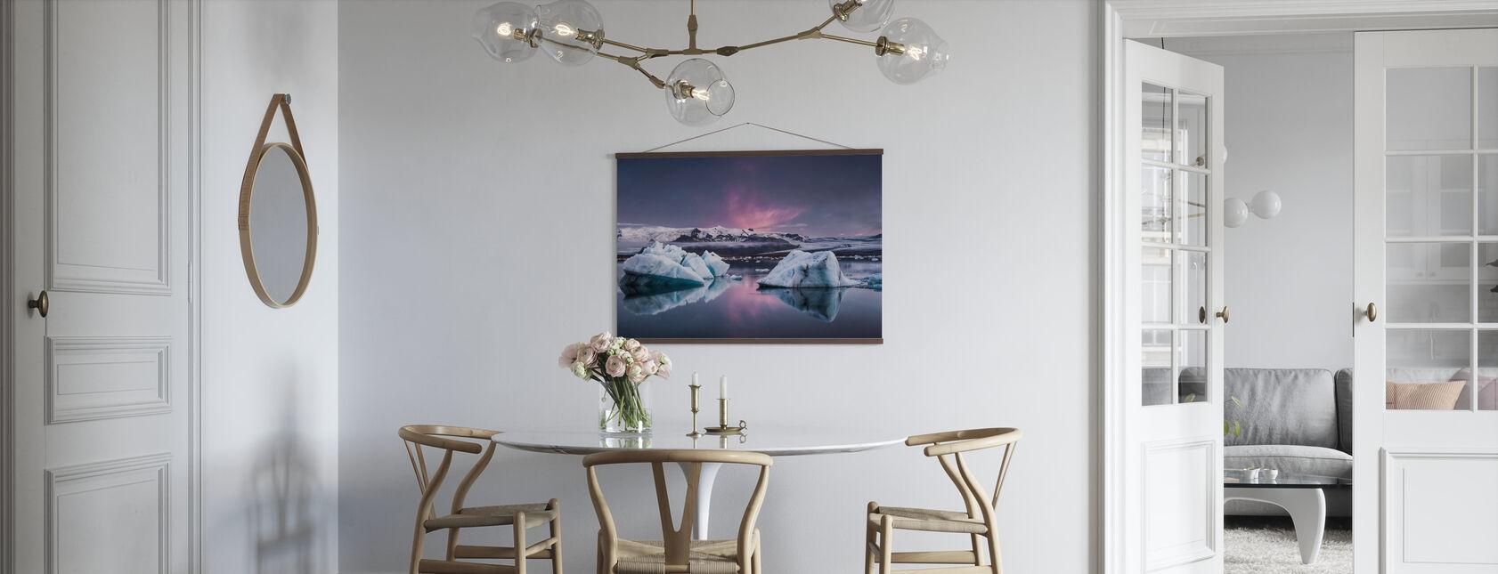 The Glacier Lagoon - Poster - Kitchen