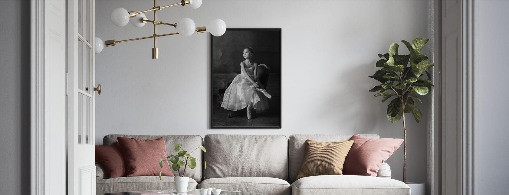 Lilla balett stjärna - Poster - Vardagsrum