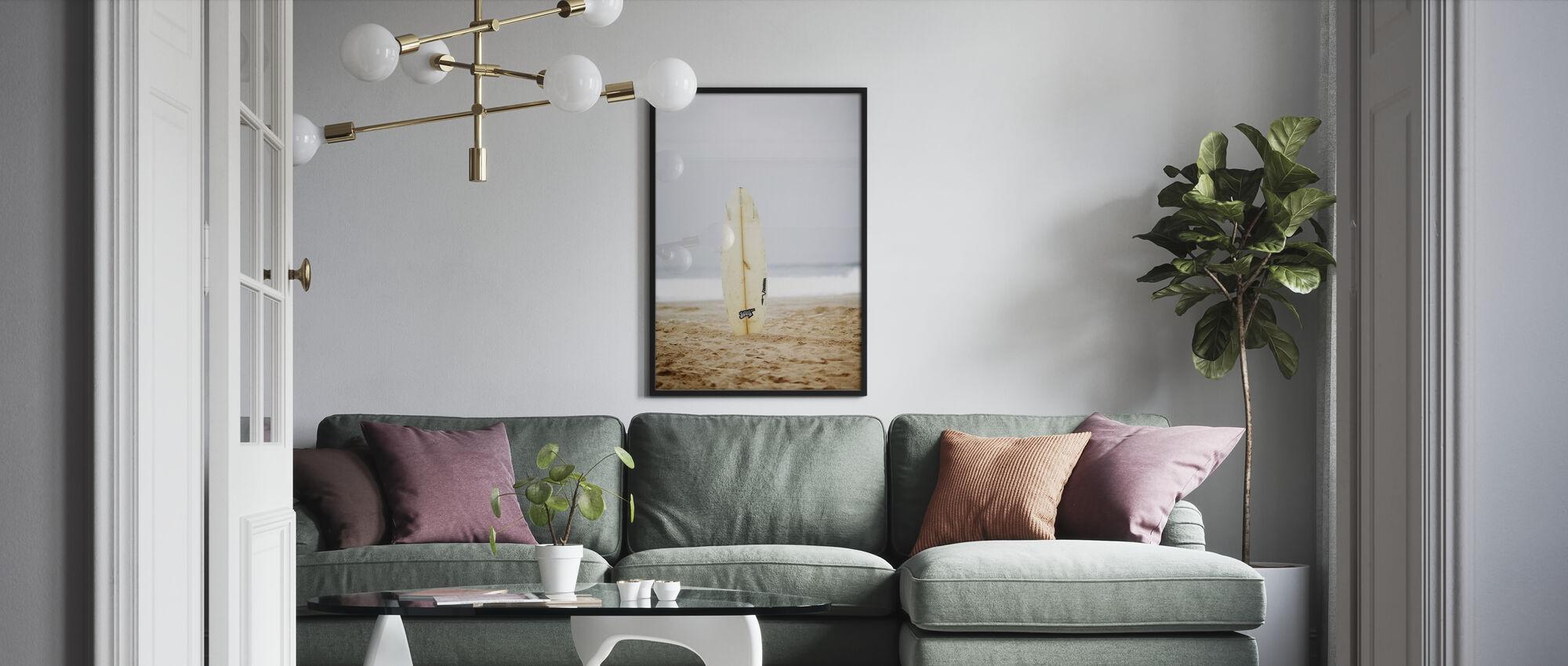 Surfbrett - Poster - Wohnzimmer