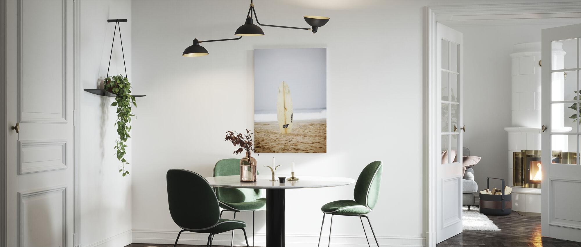 Surfboard - Canvas print - Kitchen