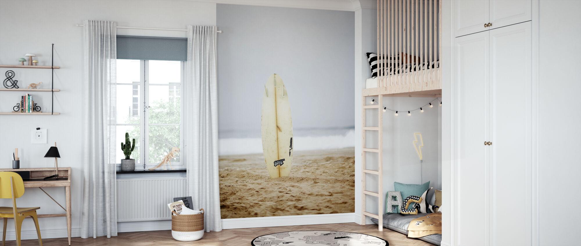 Surfboard - Wallpaper - Kids Room