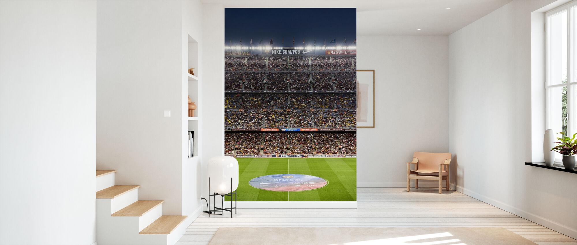 Fußballstadion - Tapete - Flur