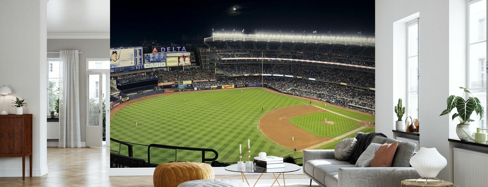 New York Yankees - Wallpaper - Living Room