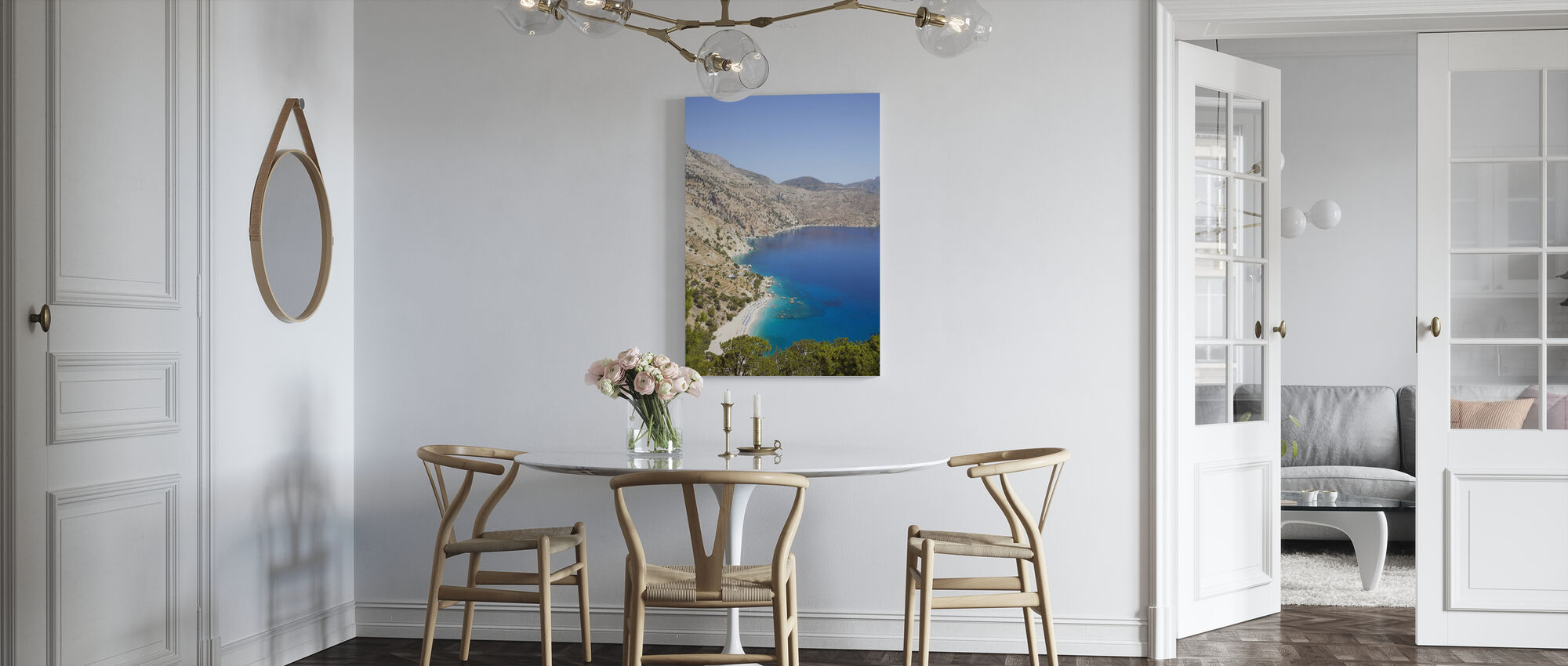 Karpathos Mountain View - Canvas print - Kitchen