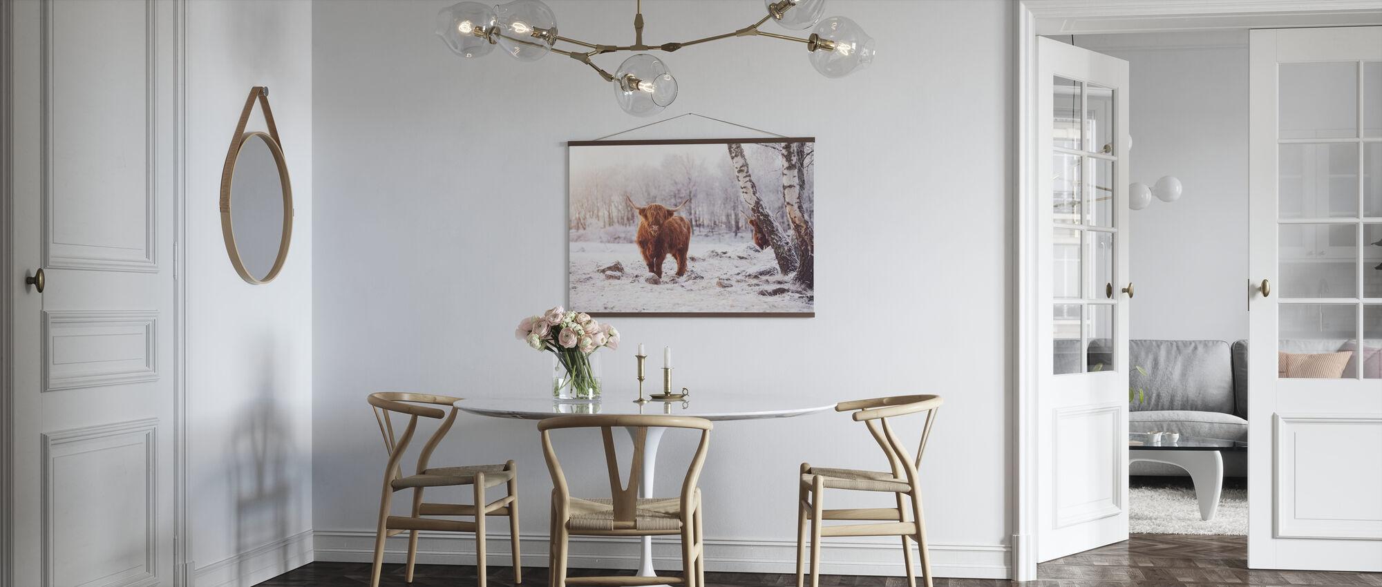 Highland Kvæg - Plakat - Køkken