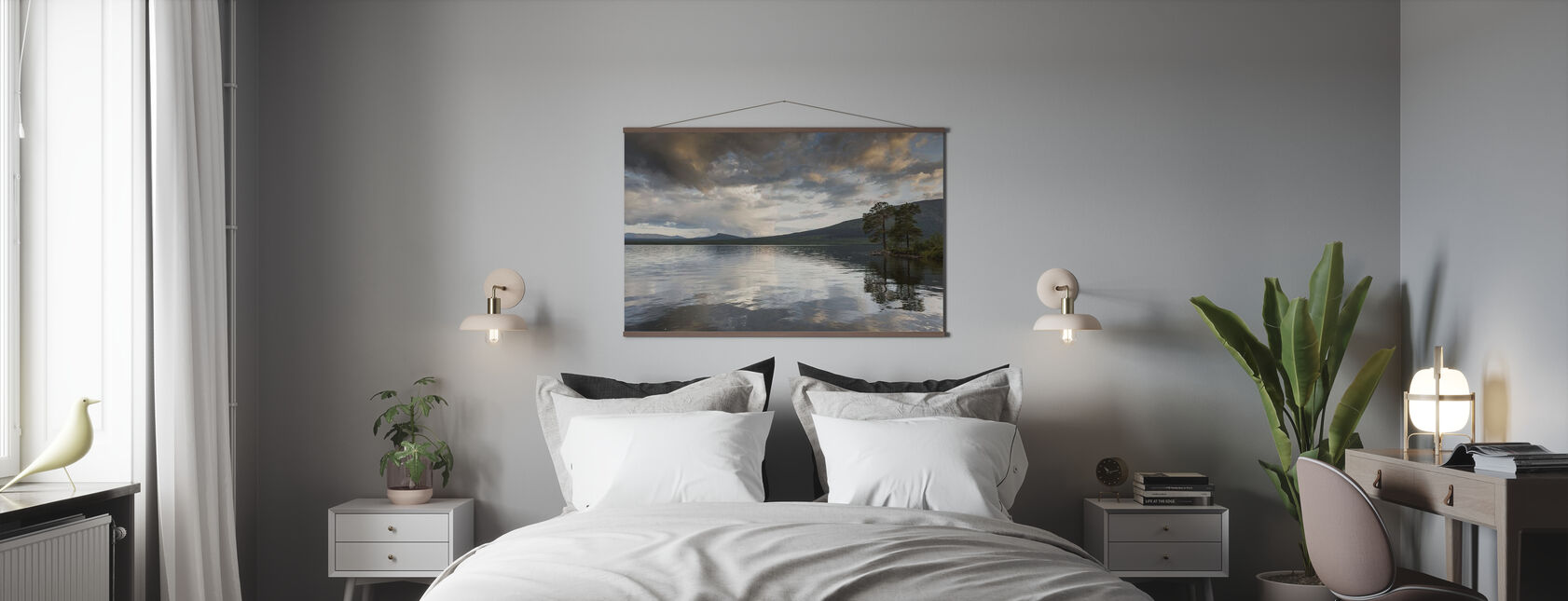Jamtland Lake - Plakat - Soverom