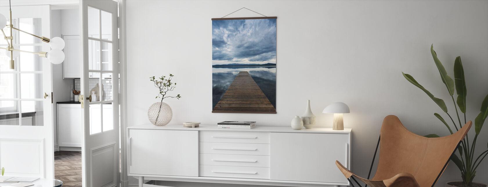 Pier Overskyet - Plakat - Stue