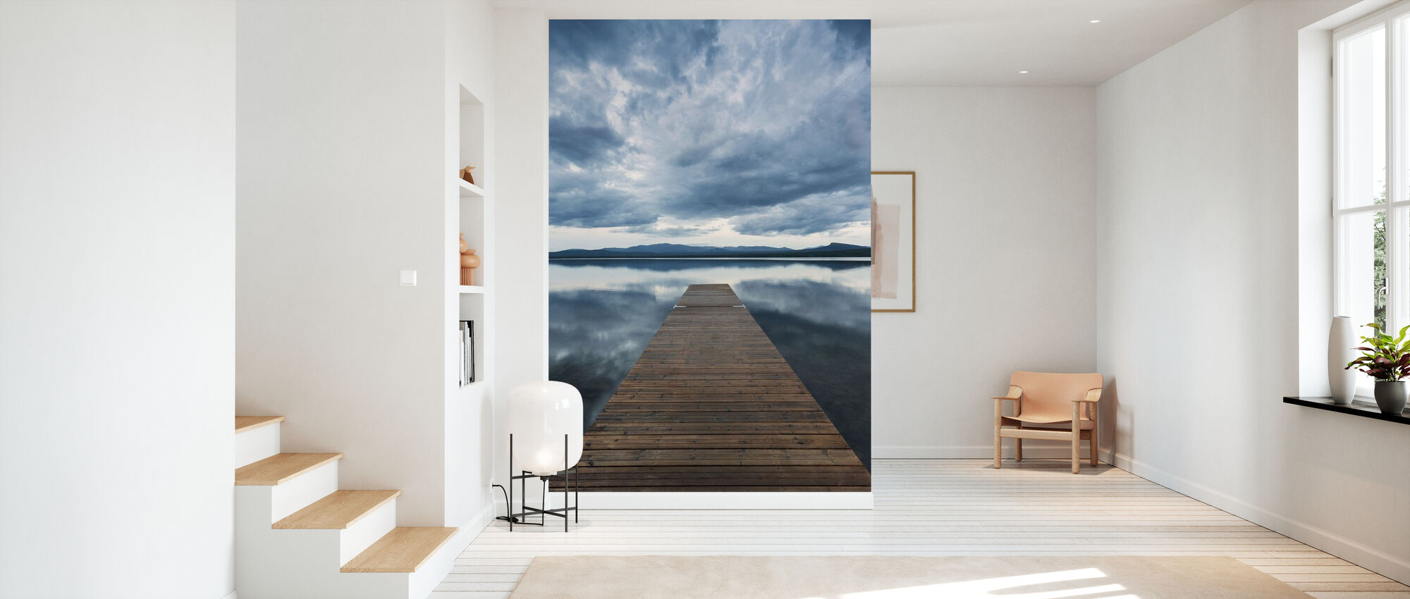 Pier Overcast - Wallpaper - Hallway