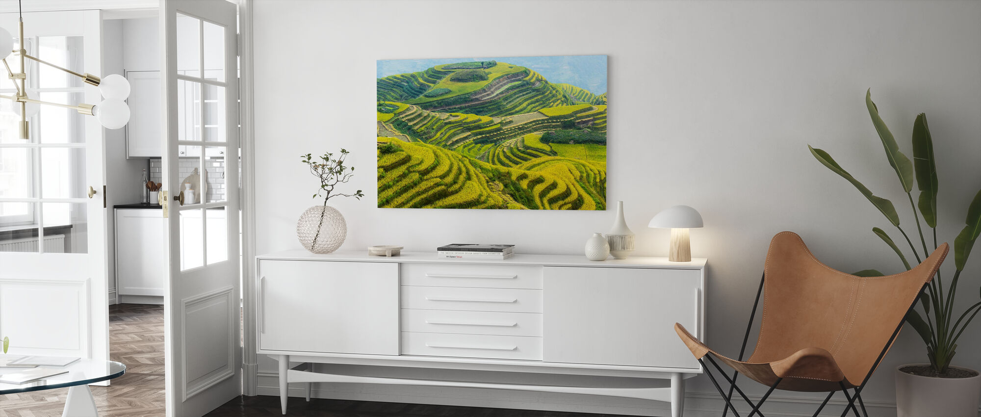 Guilin Fields - Canvas print - Living Room