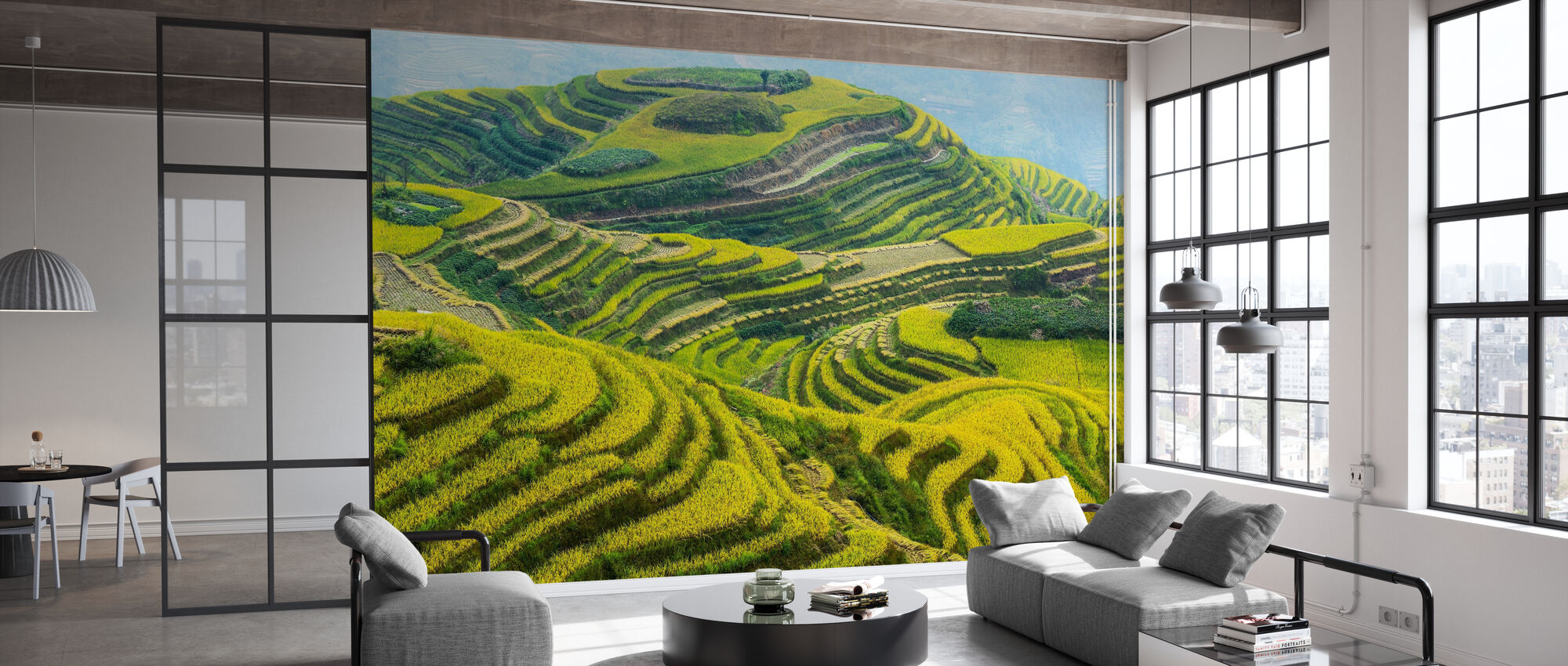 Guilin Fields - Wallpaper - Office