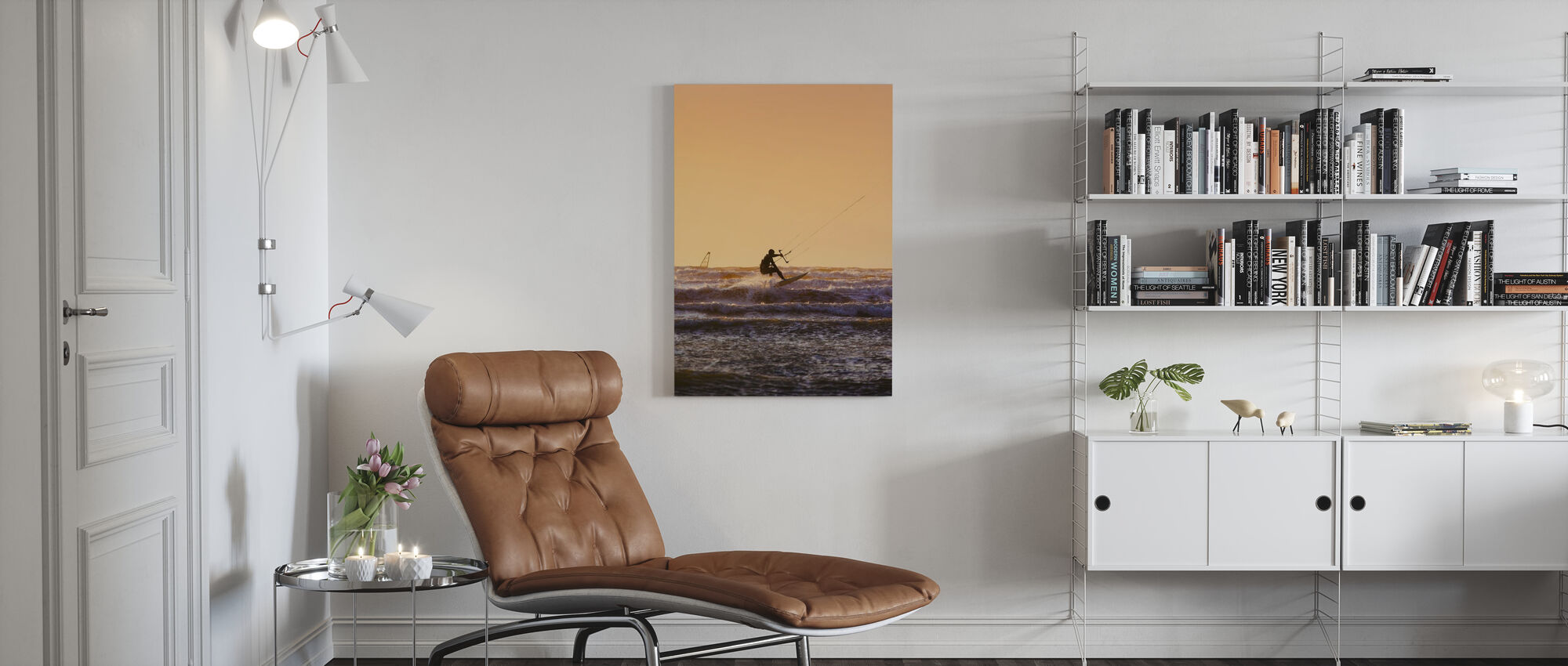 Halland Windsurfen - Canvas print - Woonkamer