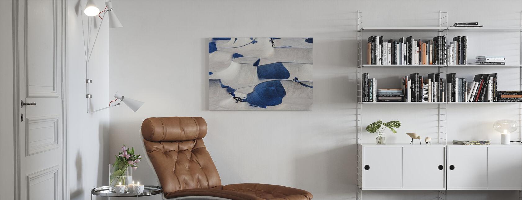 Skateboarding in Park - Canvas print - Living Room