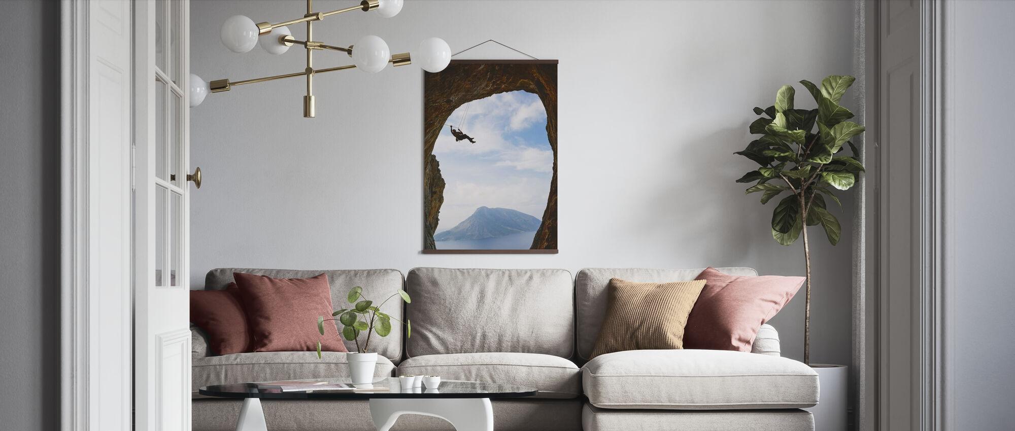 Mountain Climbing - Poster - Living Room