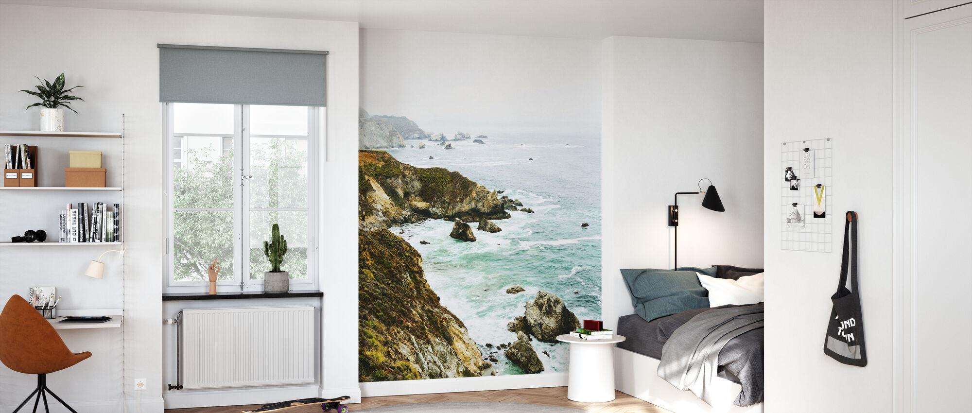 Rock Coastline - Wallpaper - Kids Room