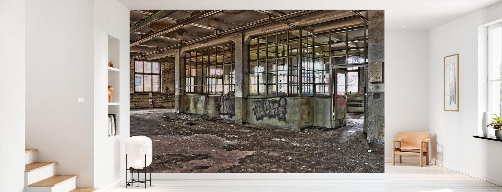 Oude Fabriek - Behang - Gang