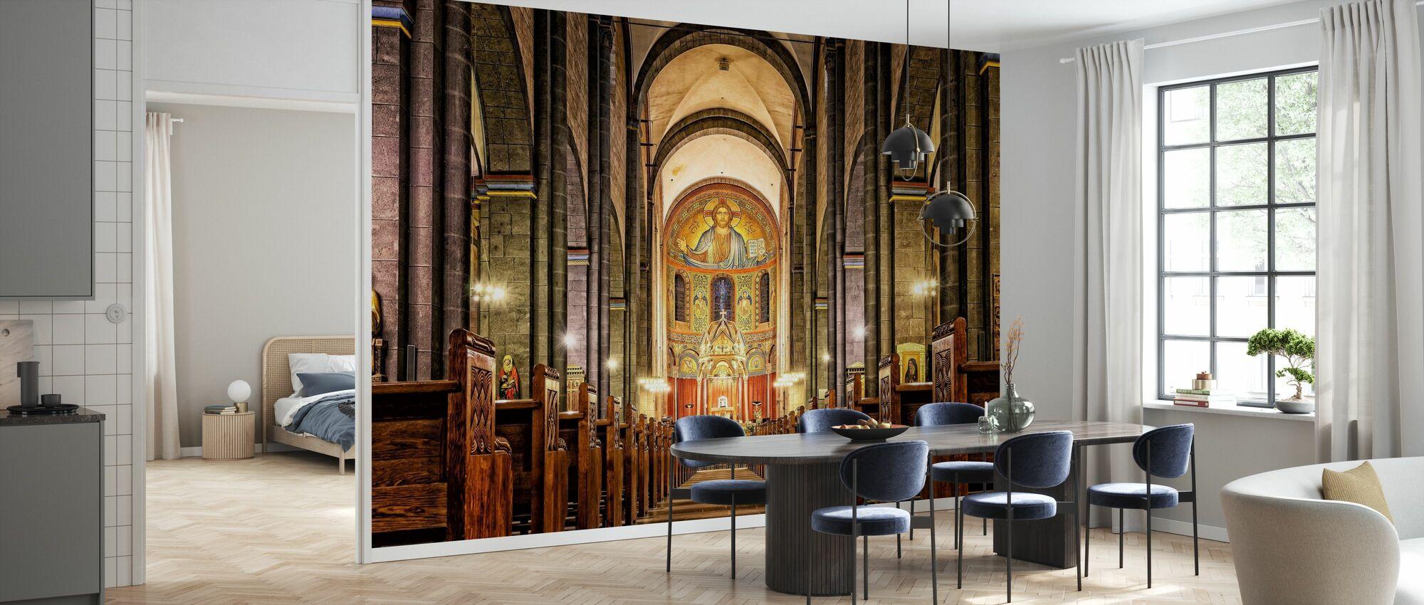 Dom kyrka - Tapet - Kök