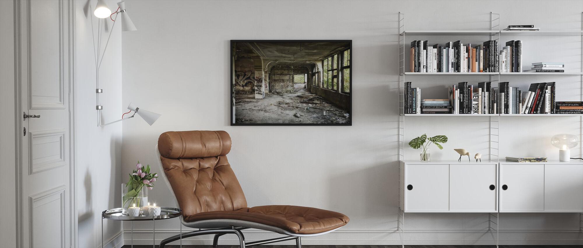 Ruined Villa - Poster - Living Room