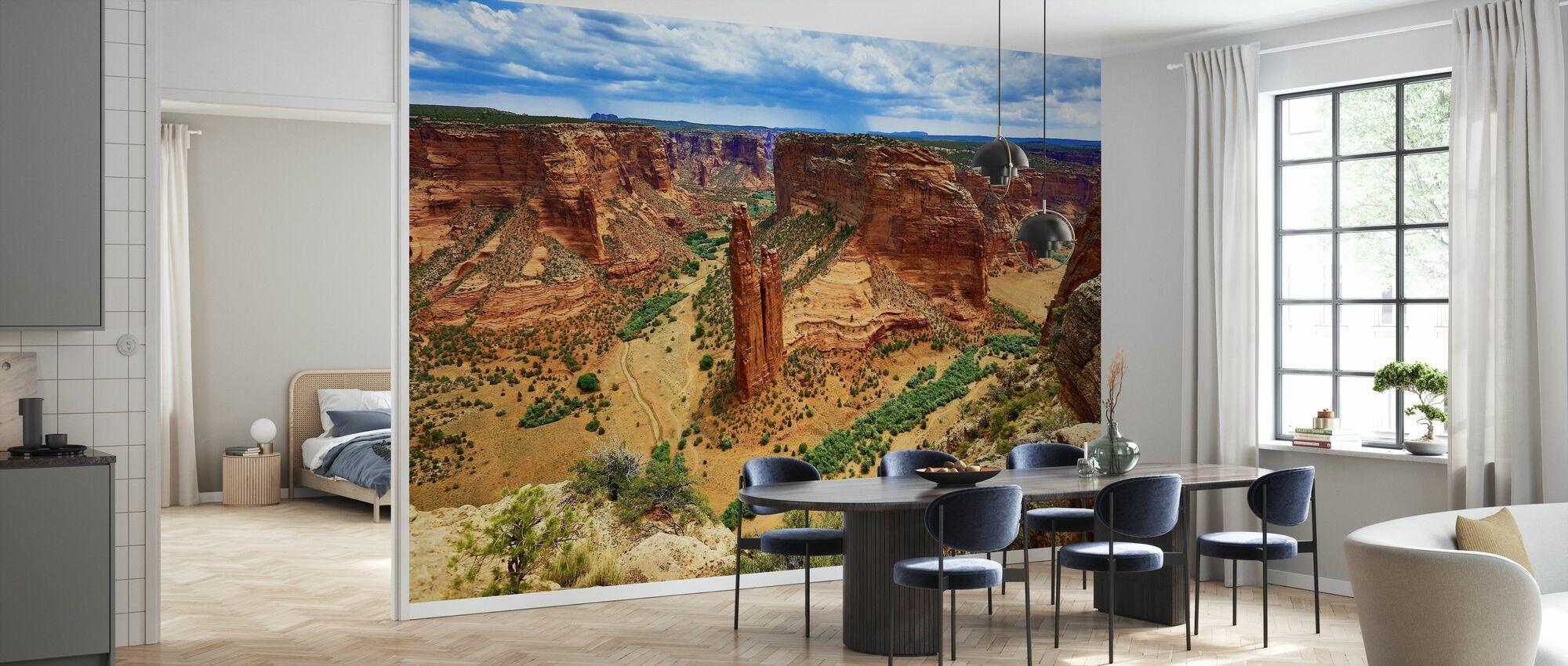 De Chelly Sandstone - Wallpaper - Kitchen