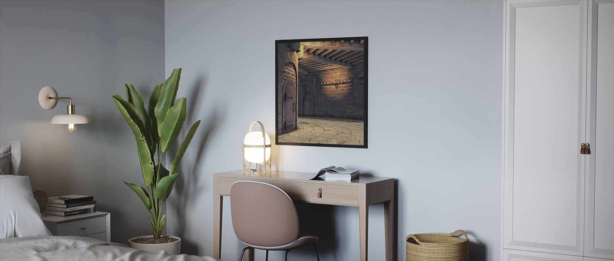Tower Rotunda - Framed print - Bedroom