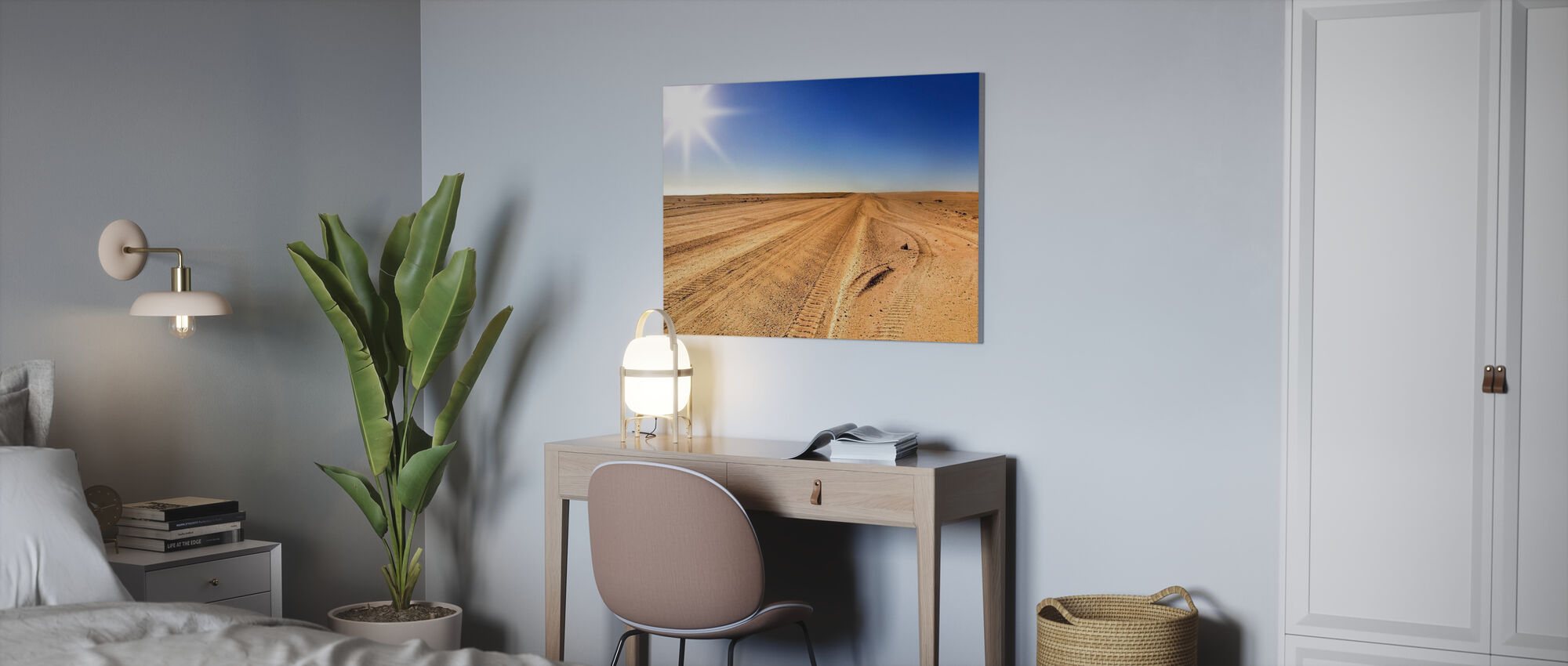 Område 51 Desert - Lerretsbilde - Kontor
