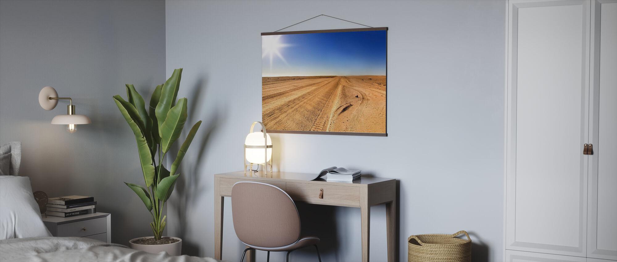 Area 51 Desert - Poster - Office