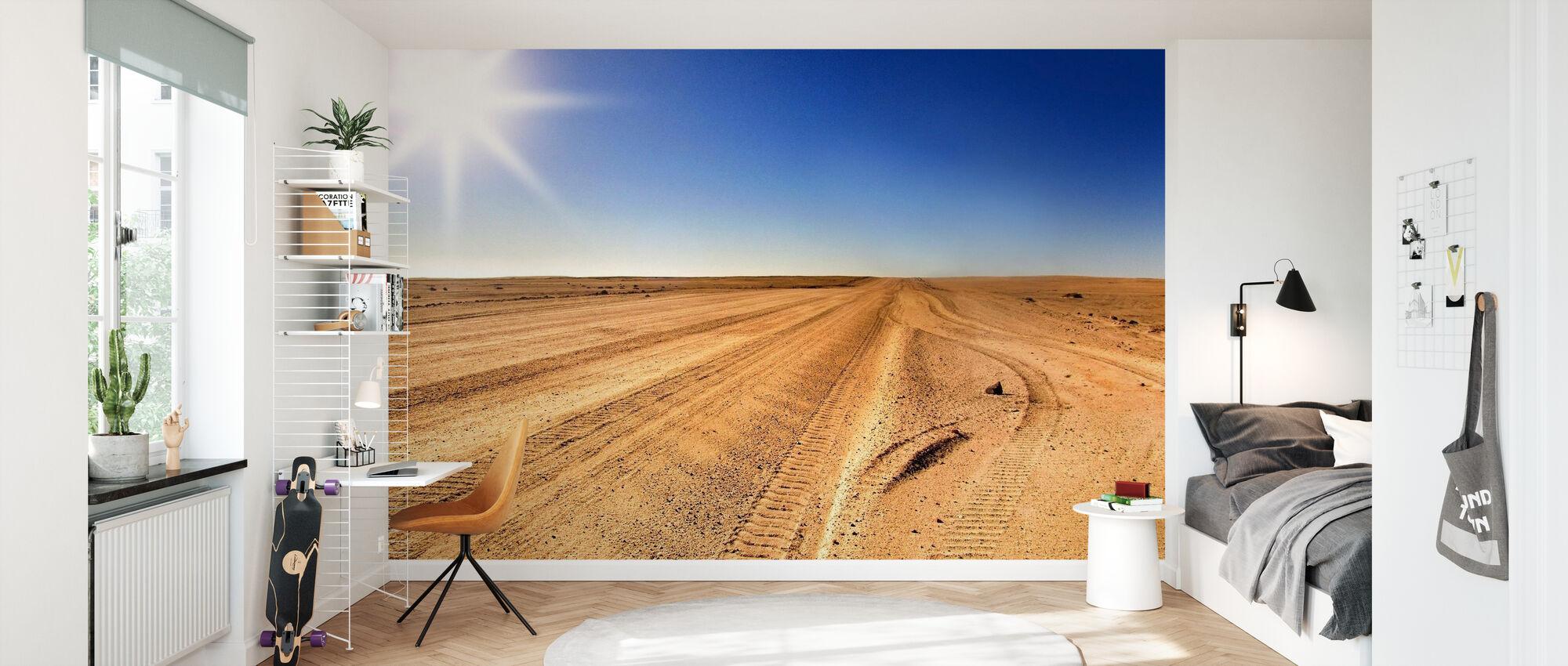 Område 51 Desert - Tapet - Barnerom