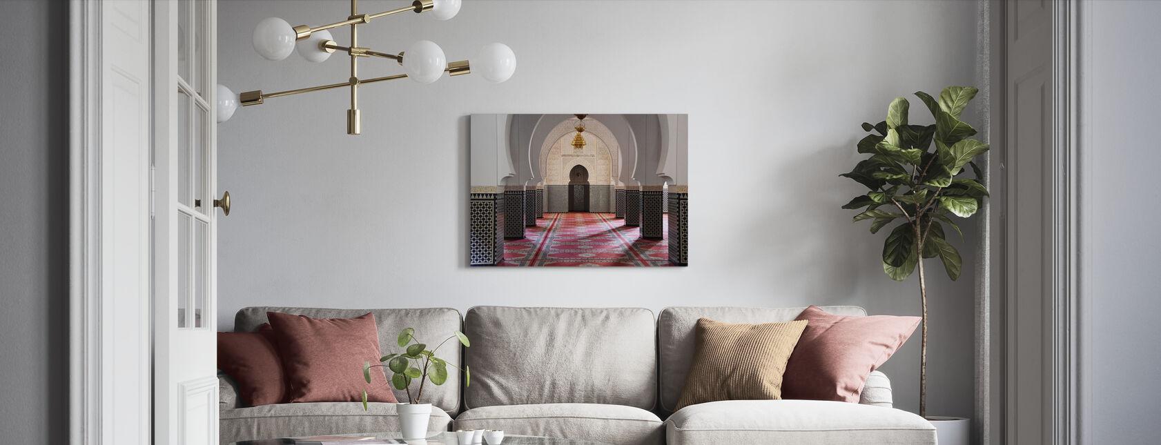 Berber-Mozaïekmoskee - Canvas print - Woonkamer