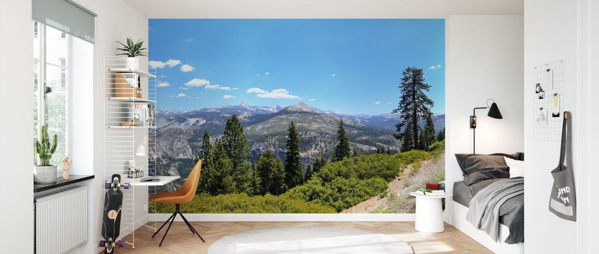 Yosemite nationalpark - Tapet - Barnrum