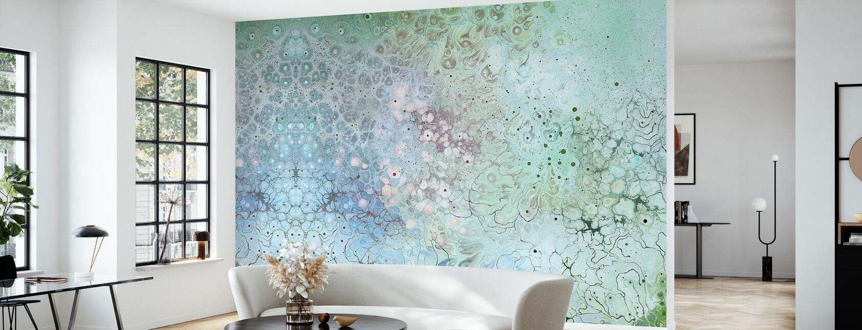Biosfera AURA - Papel pintado - Salón