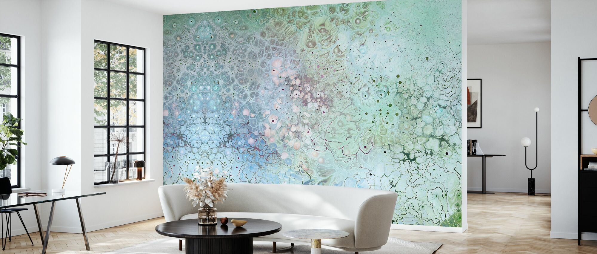 AURA Biosphere - Wallpaper - Living Room