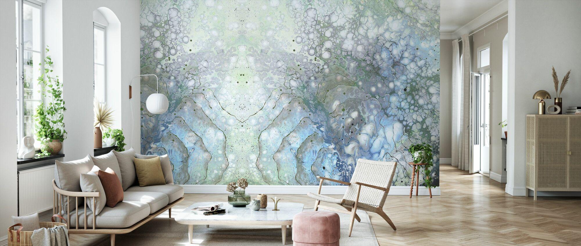 AURA Moon - Wallpaper - Living Room