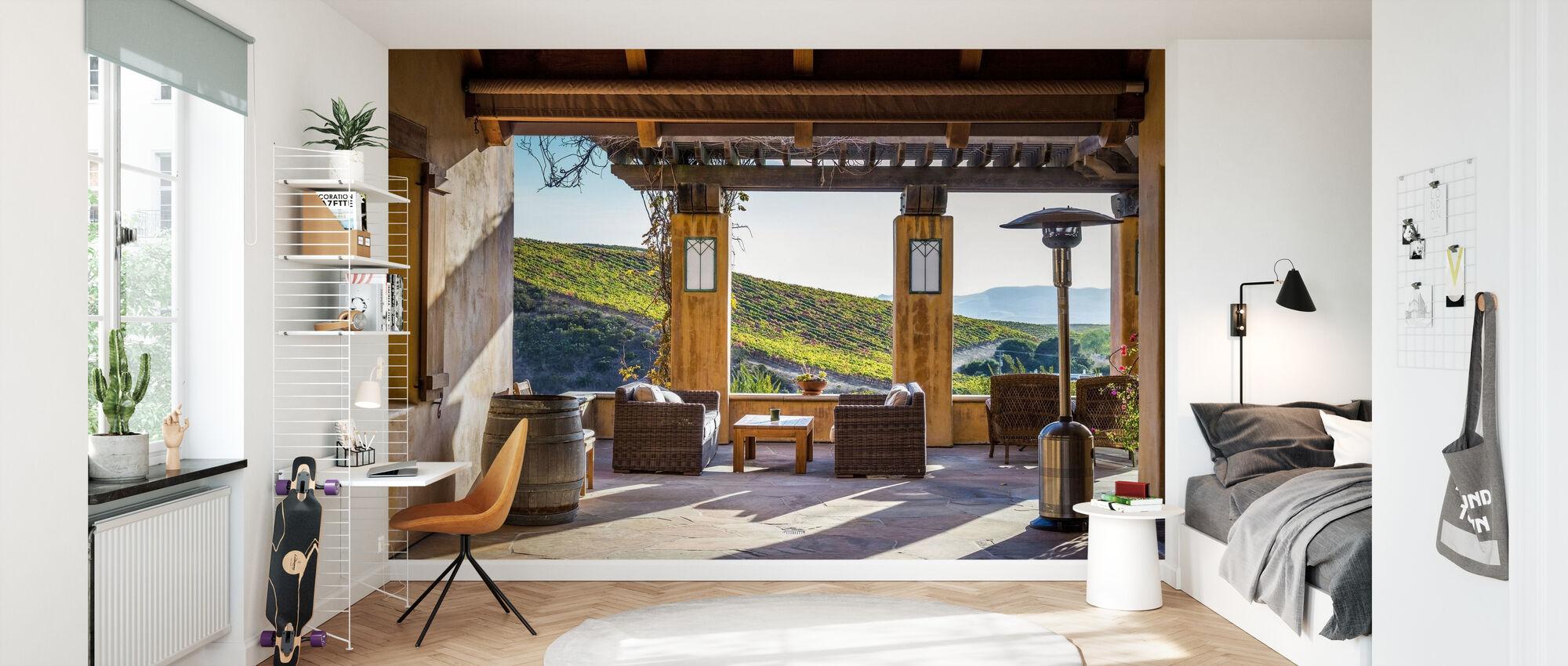 Highland Sunny View - Wallpaper - Kids Room