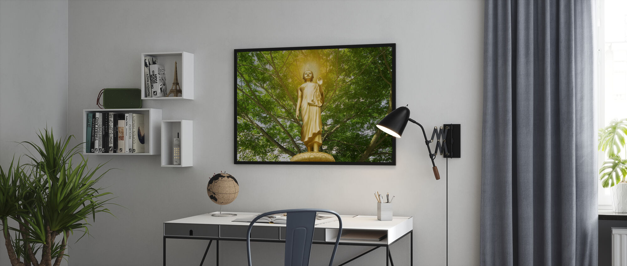 Statue des Buddha - Poster - Büro