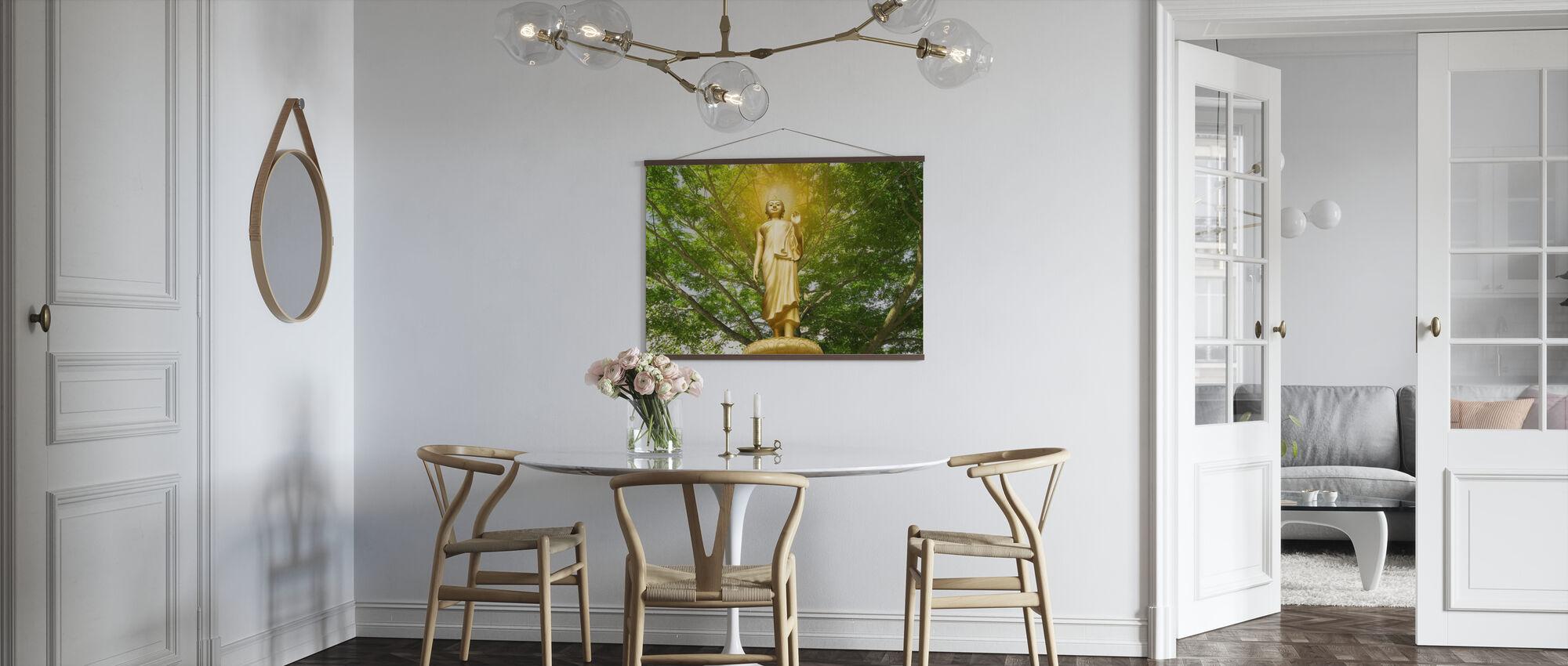 Statue of Buddha - Poster - Kitchen