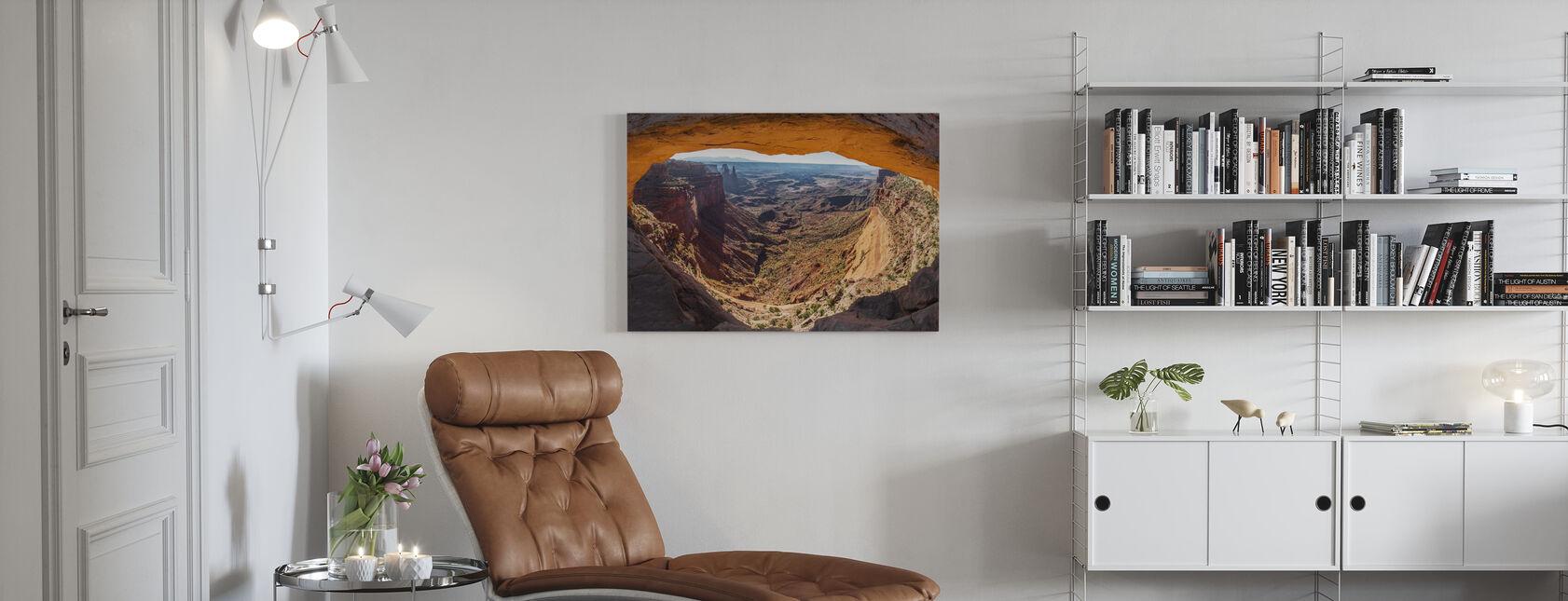 Mesa Arch - Canvas print - Woonkamer