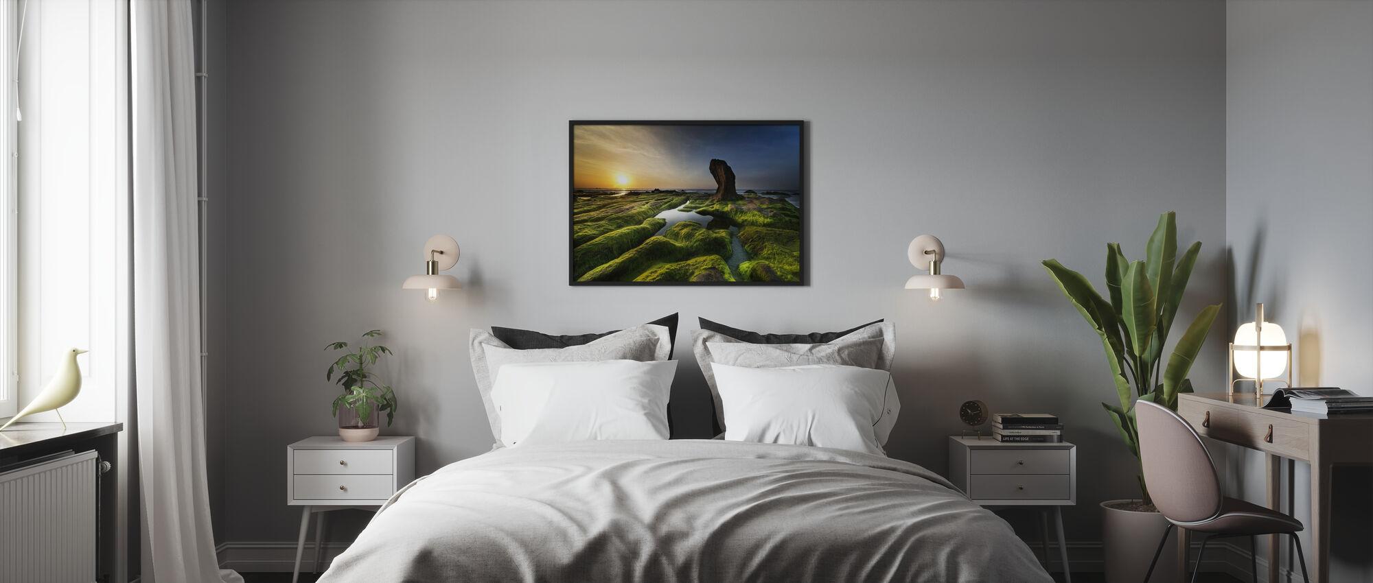 Cothach Coast - Poster - Schlafzimmer