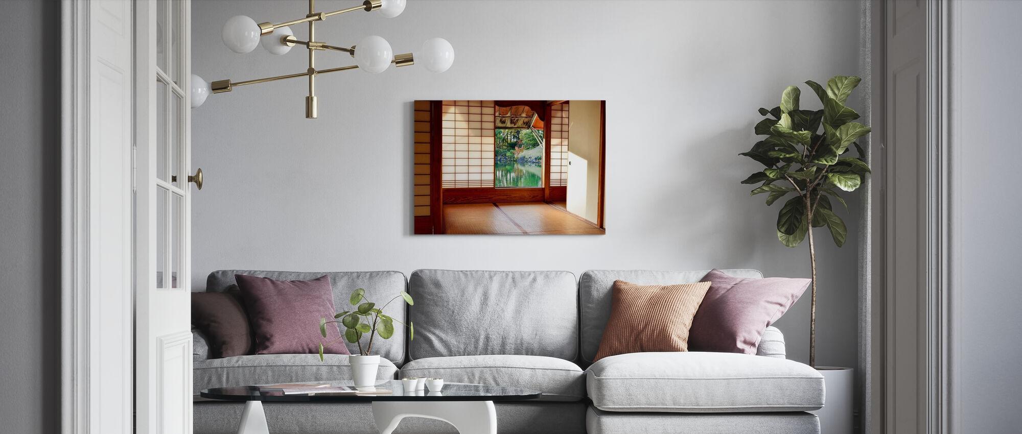 Japanese Room - Canvas print - Living Room