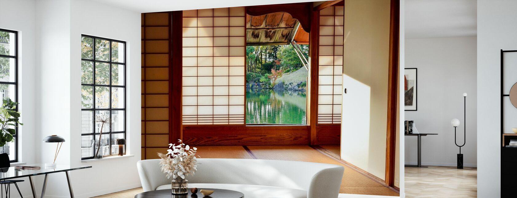 Japanisches Zimmer - Tapete - Wohnzimmer