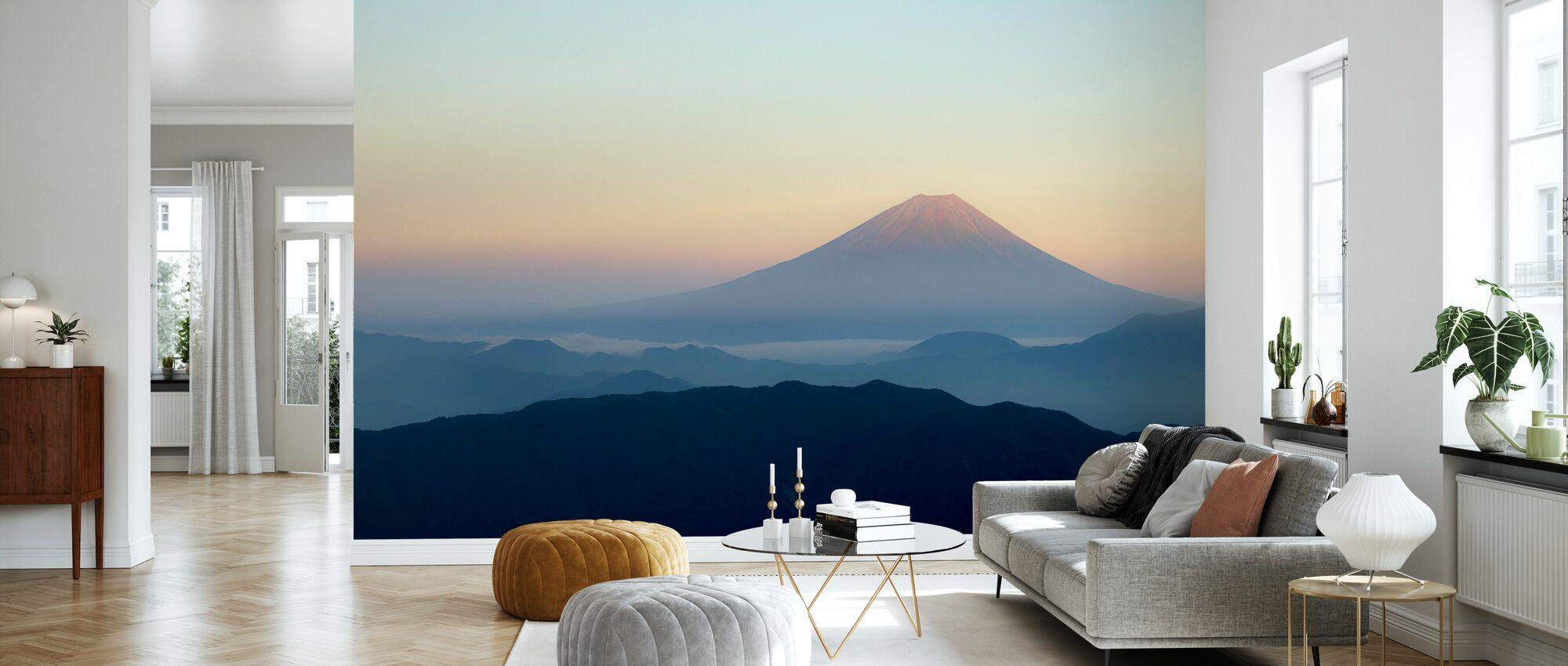 Mt. Fuji - Wallpaper - Living Room