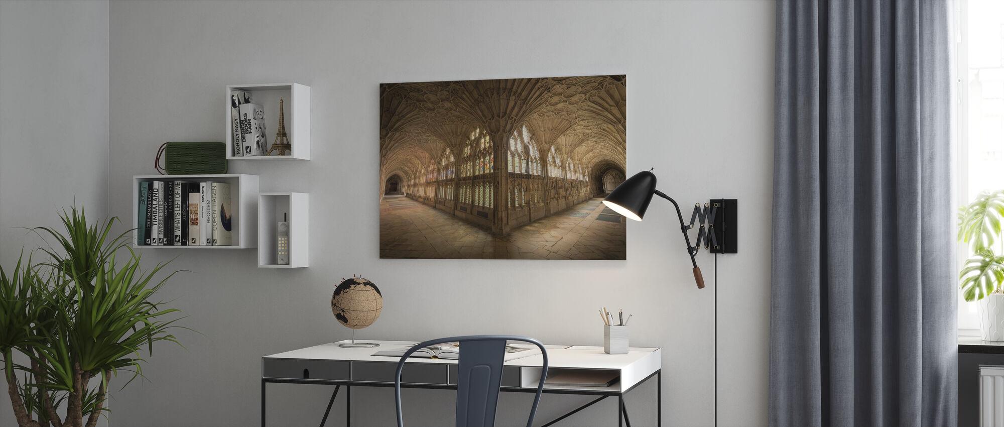 Klosteret - Lerretsbilde - Kontor