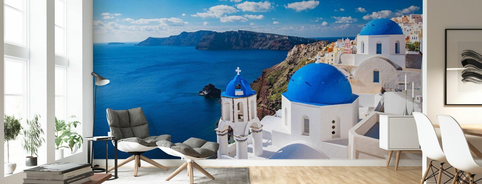 Santorini kyrka - Tapet - Vardagsrum
