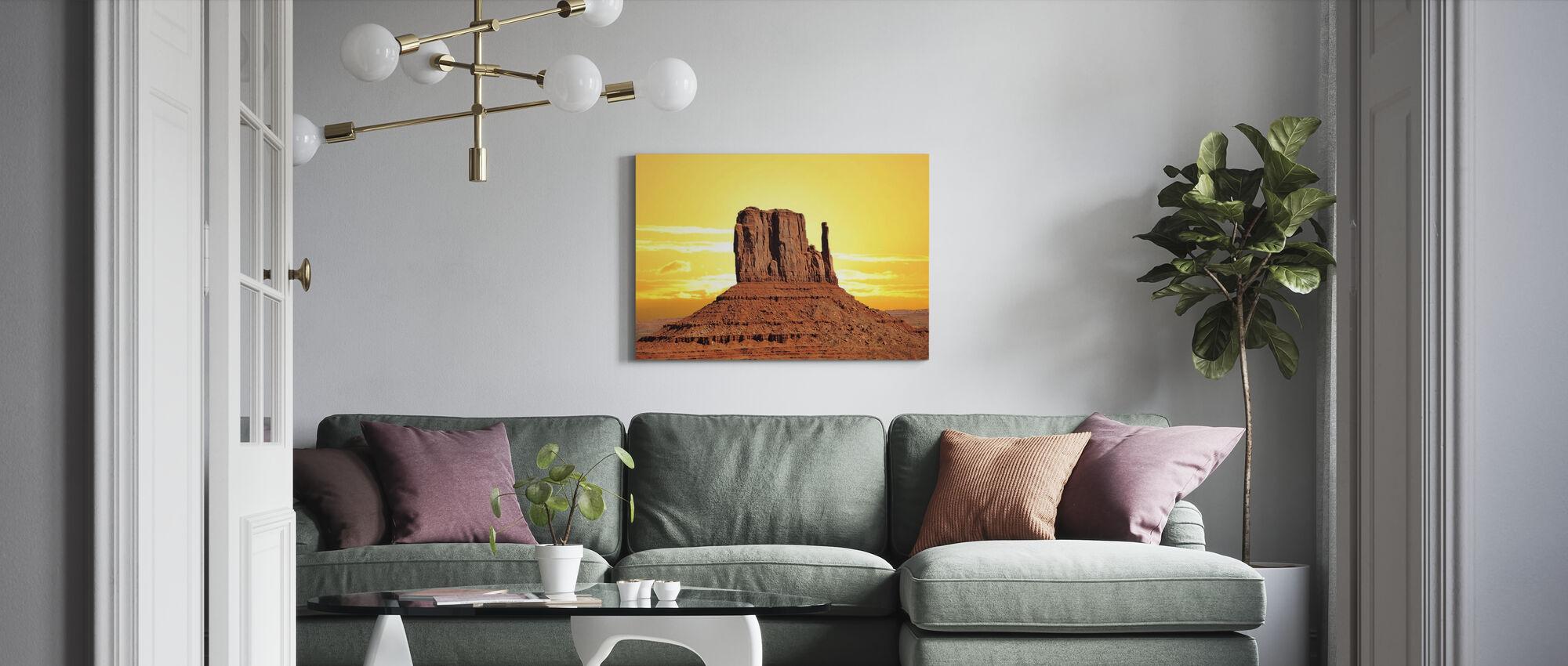 Roche Desert - Canvas print - Living Room