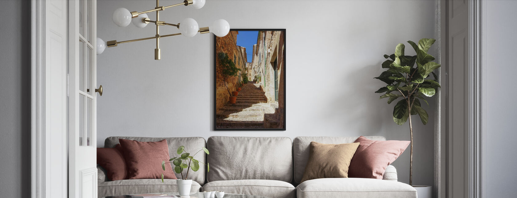 The Fornalutx - Framed print - Living Room