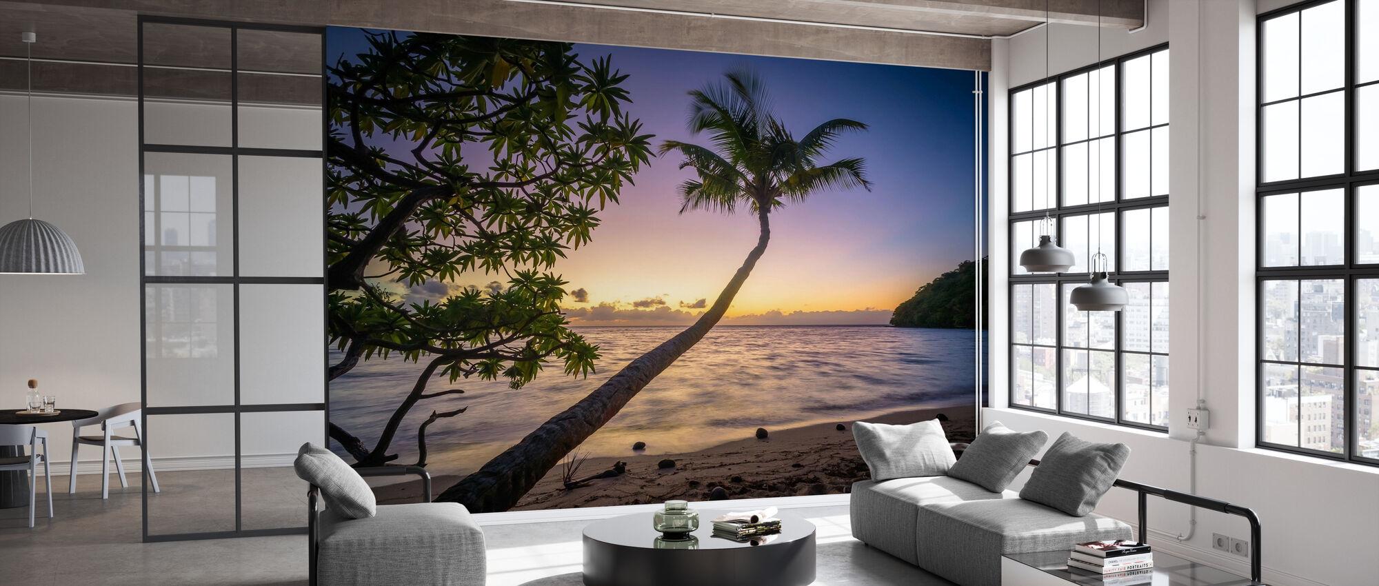 Sunset Beach - Tapet - Kontor