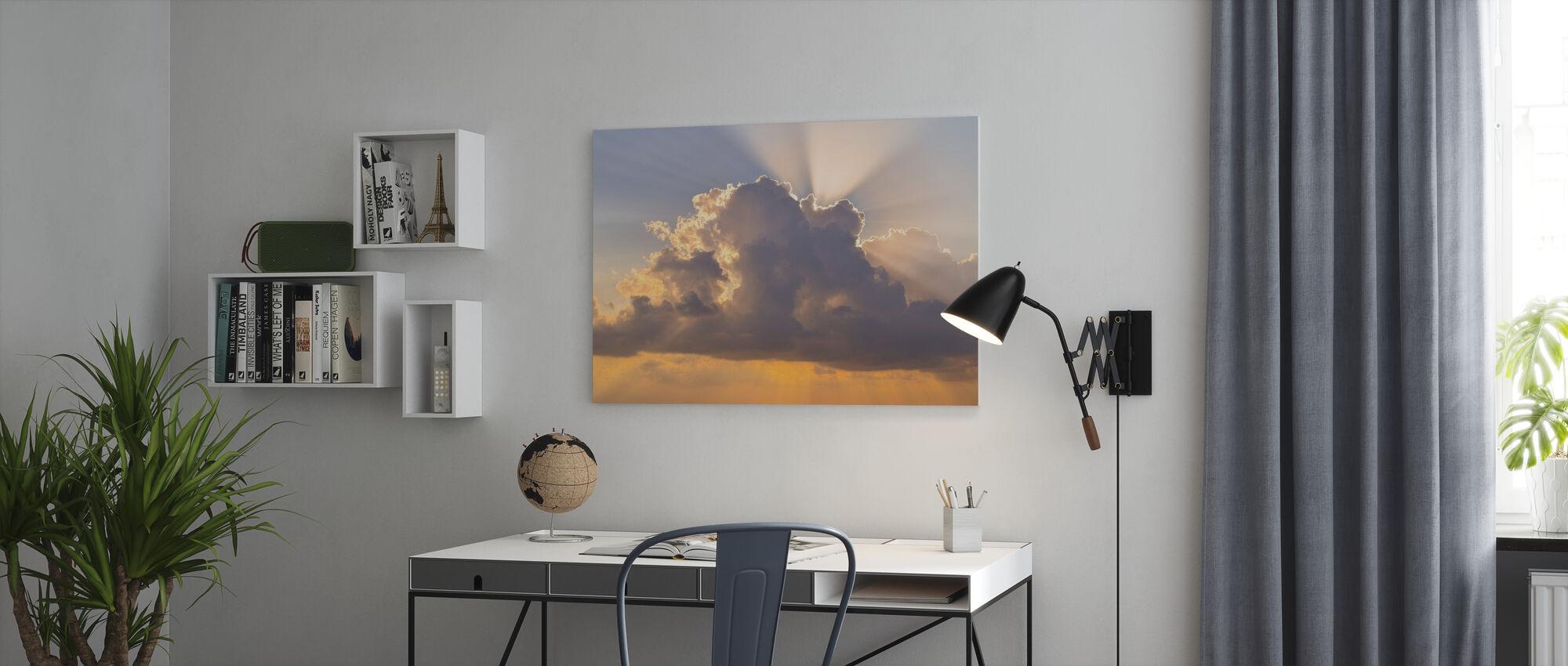 Cloudscape - Canvas print - Office