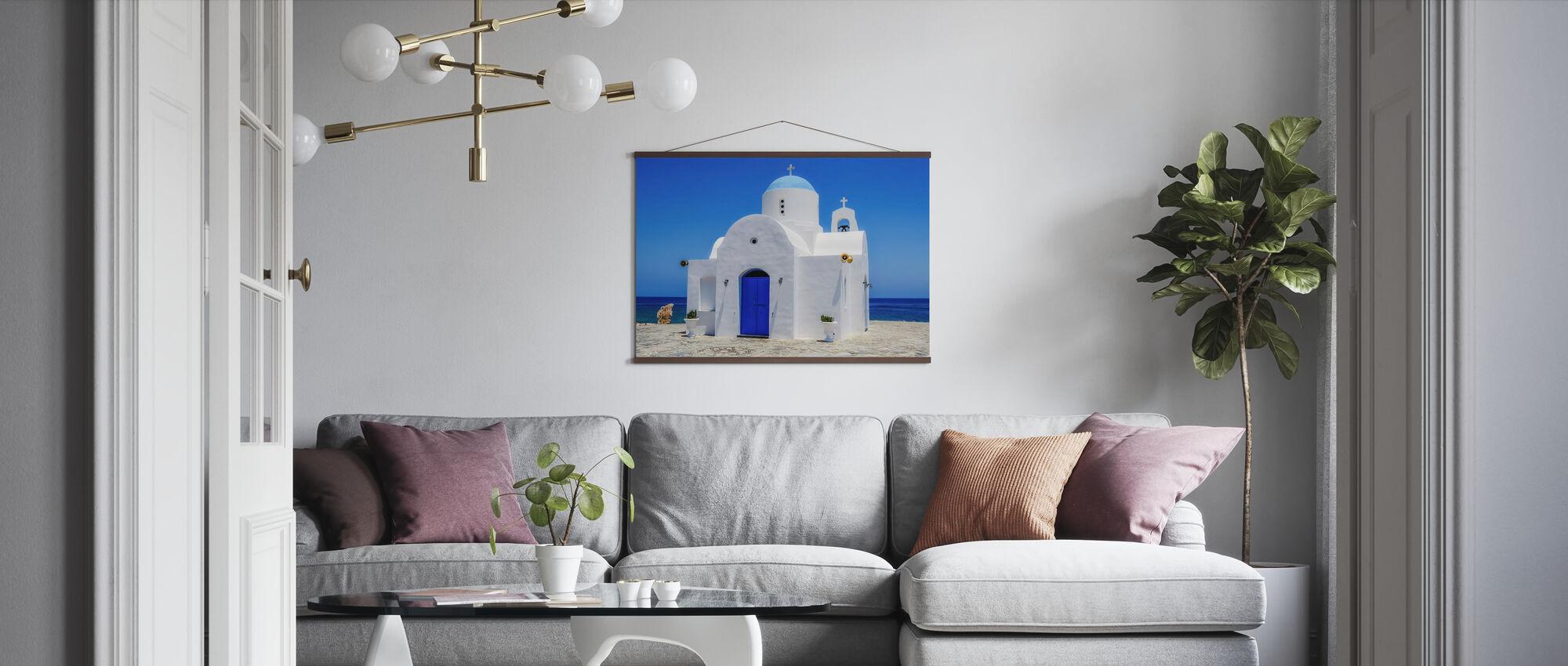 Protaras Church - Poster - Living Room